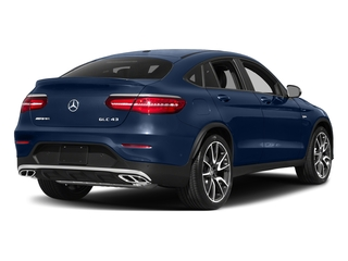 Brilliant Blue Metallic 2018 Mercedes-Benz GLC Pictures GLC AMG GLC 43 4MATIC Coupe photos rear view