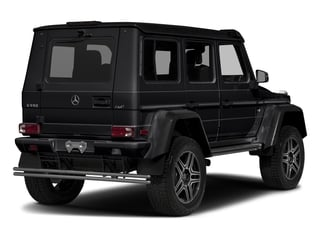 Black 2018 Mercedes-Benz G-Class Pictures G-Class 4x4 Squared 4 Door Utility photos rear view