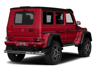 designo Manufaktur Magma Red 2018 Mercedes-Benz G-Class Pictures G-Class G 550 4x4 Squared SUV photos rear view