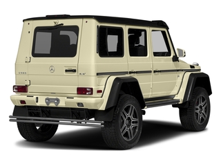 designo Manufaktur Light Ivory 2018 Mercedes-Benz G-Class Pictures G-Class G 550 4x4 Squared SUV photos rear view