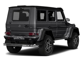 Steel Grey Metallic 2018 Mercedes-Benz G-Class Pictures G-Class G 550 4x4 Squared SUV photos rear view