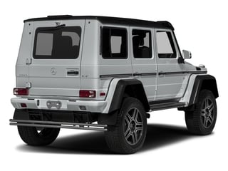 Iridium Silver Metallic 2018 Mercedes-Benz G-Class Pictures G-Class G 550 4x4 Squared SUV photos rear view
