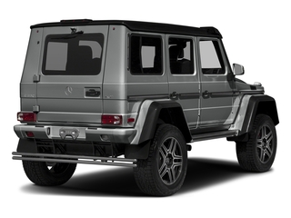 Palladium Silver Metallic 2018 Mercedes-Benz G-Class Pictures G-Class G 550 4x4 Squared SUV photos rear view