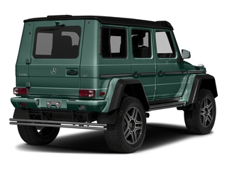 designo Manufaktur Agate Green 2018 Mercedes-Benz G-Class Pictures G-Class G 550 4x4 Squared SUV photos rear view