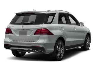 Iridium Silver Metallic 2018 Mercedes-Benz GLE Pictures GLE GLE 550e 4MATIC SUV photos rear view