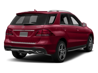 designo Cardinal Red Metallic 2018 Mercedes-Benz GLE Pictures GLE GLE 550e 4MATIC SUV photos rear view