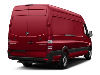 Flame Red 2018 Mercedes-Benz Sprinter Cargo Van Pictures Sprinter Cargo Van 2500 High Roof V6 170 Extended 4WD photos rear view