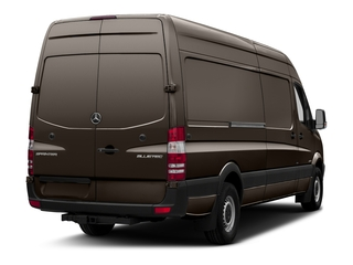 Dolomite Brown Metallic 2018 Mercedes-Benz Sprinter Cargo Van Pictures Sprinter Cargo Van 2500 High Roof V6 170 Extended 4WD photos rear view