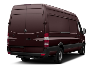 Velvet Red 2018 Mercedes-Benz Sprinter Cargo Van Pictures Sprinter Cargo Van 2500 High Roof V6 170 Extended RWD photos rear view