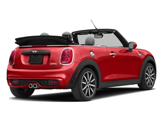 Chili Red 2018 MINI Convertible Pictures Convertible Cooper S FWD photos rear view