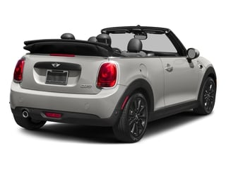 White Silver Metallic 2018 MINI Convertible Pictures Convertible Cooper FWD photos rear view