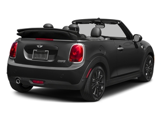 Midnight Black Metallic 2018 MINI Convertible Pictures Convertible Cooper FWD photos rear view