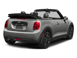 Moonwalk Grey Semi-Metallic 2018 MINI Convertible Pictures Convertible Cooper FWD photos rear view