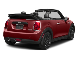 Blazing Red Metallic 2018 MINI Convertible Pictures Convertible Cooper FWD photos rear view