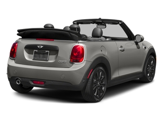 Melting Silver Metallic 2018 MINI Convertible Pictures Convertible Cooper FWD photos rear view