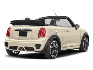 Pepper White 2018 MINI Convertible Pictures Convertible Convertible 2D JCW I4 Turbo photos rear view