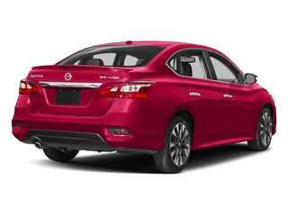 Scarlet Ember 2018 Nissan Sentra Pictures Sentra SR Turbo Manual photos rear view