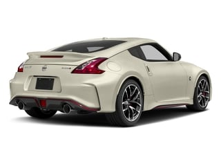 Pearl White 2018 Nissan 370Z Coupe Pictures 370Z Coupe 2D NISMO Tech V6 photos rear view