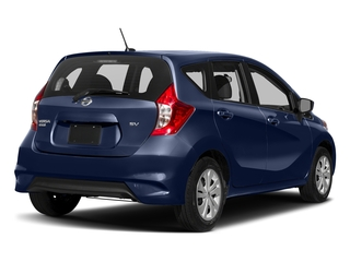 Deep Blue Pearl 2018 Nissan Versa Note Pictures Versa Note 2018.5 SV CVT photos rear view