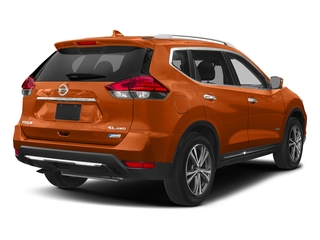 Monarch Orange 2018 Nissan Rogue Pictures Rogue FWD SL Hybrid photos rear view