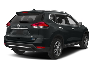 Magnetic Black 2018 Nissan Rogue Pictures Rogue FWD SL Hybrid photos rear view
