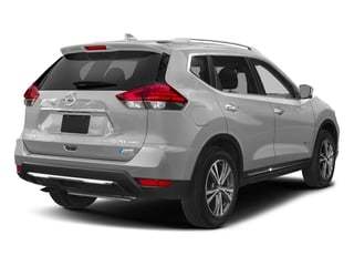 Brilliant Silver 2018 Nissan Rogue Pictures Rogue FWD SL Hybrid photos rear view