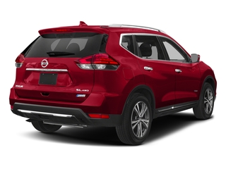 Scarlet Ember 2018 Nissan Rogue Pictures Rogue FWD SL Hybrid photos rear view