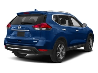 Caspian Blue 2018 Nissan Rogue Pictures Rogue FWD SL Hybrid photos rear view