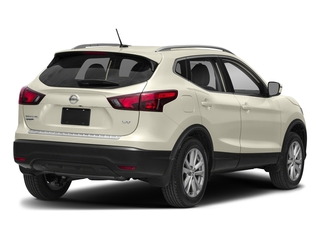 Pearl White 2018 Nissan Rogue Sport Pictures Rogue Sport Utility 4D SV Mid-Year 2WD photos rear view