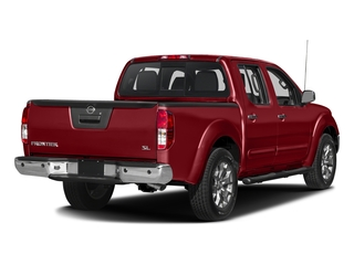 Lava Red 2018 Nissan Frontier Pictures Frontier Crew Cab SL 4WD photos rear view