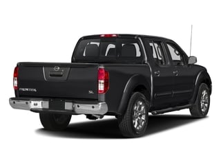 Magnetic Black 2018 Nissan Frontier Pictures Frontier Crew Cab SL 2WD photos rear view