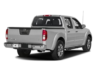 Brilliant Silver 2018 Nissan Frontier Pictures Frontier Crew Cab SL 4WD photos rear view