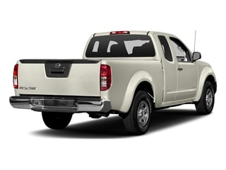 Glacier White 2018 Nissan Frontier Pictures Frontier King Cab S 2WD photos rear view