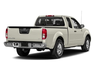 Glacier White 2018 Nissan Frontier Pictures Frontier King Cab 4x2 SV V6 Auto photos rear view