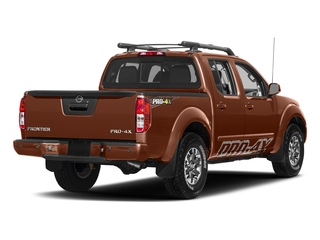 Forged Copper 2018 Nissan Frontier Pictures Frontier Crew Cab 4x4 PRO-4X Manual photos rear view