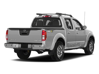Brilliant Silver 2018 Nissan Frontier Pictures Frontier Crew Cab 4x4 PRO-4X Manual photos rear view