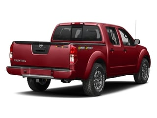 Lava Red 2018 Nissan Frontier Pictures Frontier Crew Cab Desert Runner 2WD photos rear view