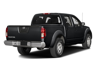 Magnetic Black 2018 Nissan Frontier Pictures Frontier Crew Cab S 2WD photos rear view