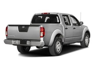 Brilliant Silver 2018 Nissan Frontier Pictures Frontier Crew Cab S 2WD photos rear view