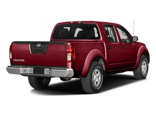 Cayenne Red 2018 Nissan Frontier Pictures Frontier Crew Cab S 2WD photos rear view