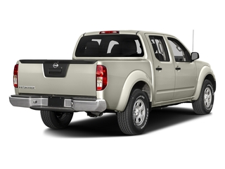 Glacier White 2018 Nissan Frontier Pictures Frontier Crew Cab S 2WD photos rear view