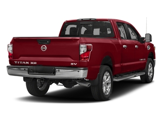 Cayenne Red 2018 Nissan Titan XD Pictures Titan XD Crew Cab SV 2WD photos rear view