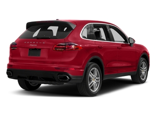 Carmine Red 2018 Porsche Cayenne Pictures Cayenne Utility 4D AWD V6 photos rear view
