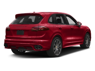 Carmine Red 2018 Porsche Cayenne Pictures Cayenne Utility 4D GTS AWD V6 Turbo photos rear view