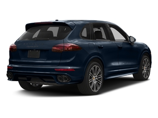 Moonlight Blue Metallic 2018 Porsche Cayenne Pictures Cayenne Utility 4D GTS AWD V6 Turbo photos rear view