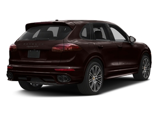 Mahogany Metallic 2018 Porsche Cayenne Pictures Cayenne Utility 4D GTS AWD V6 Turbo photos rear view