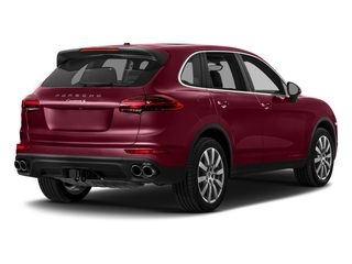 Carmine Red 2018 Porsche Cayenne Pictures Cayenne Utility 4D S AWD V6 Turbo photos rear view