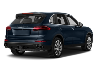 Moonlight Blue Metallic 2018 Porsche Cayenne Pictures Cayenne Utility 4D S AWD V6 Turbo photos rear view