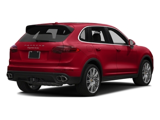 Carmine Red 2018 Porsche Cayenne Pictures Cayenne Utility 4D S AWD V8 Turbo photos rear view
