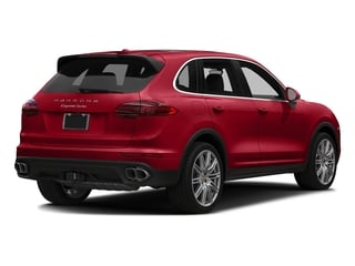 Carmine Red 2018 Porsche Cayenne Pictures Cayenne Turbo S AWD photos rear view
